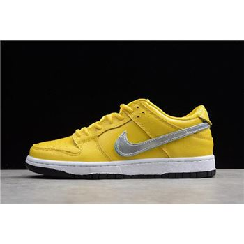 Diamond Supply Co x Nike SB Dunk Low Pro OG QS Yellow BV1310-002