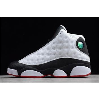 New Air Jordan 13 Retro He Got Game White/Black-True Red 309259-104