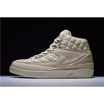Just Don x Air Jordan 2 Retro Beach 834825-250 On Sale Free Shipping