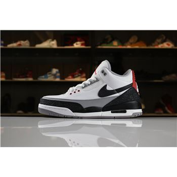 Air Jordan 3 Tinker White/Fire Red-Cement Grey-Black AQ3835-160