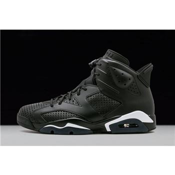 Air Jordan 6 Black Cat Black/Black-White 384664-020