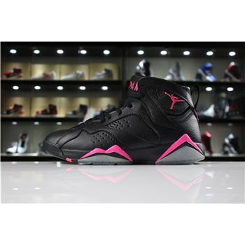 Air Jordan 7 Hyper Pink Black/Hyper Pink 442960-018 For Sale