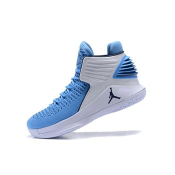 New Air Jordan 32 UNC Tar Heels PE Men's Basketball Shoes
