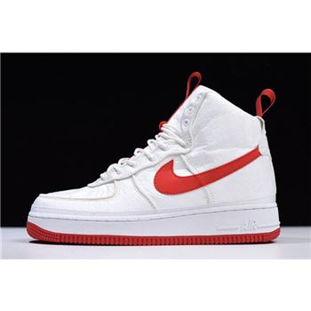 Magic Stick x Nike Air Force 1 High '07 QS White/Red 573967-100