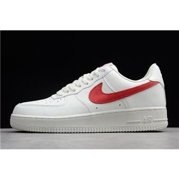 Nike Air Force 1 Low '07 Sail/University Red 315122-126