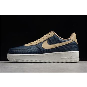 Nike Air Force 1 Low Snakeskin Dark Blue/Khaki 596728-032