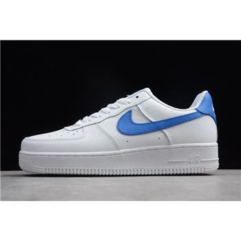 Nike Air Force 1 Upstep White/Royal Blue AQ3774-993